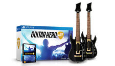 Official Guitar Hero Live Double Guitar Bundle PS4  Game + Warranty!!