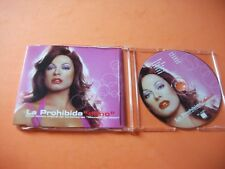 LA PROHIBIDA , CD MAXI , DAÑO (SpUNKY , FANGORIA ) RAREZA remixes  cd picture