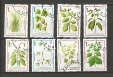 1983 plantes médicinales Sao Tomé-et-Principe 8 timbres anciens oblitérés /T4374