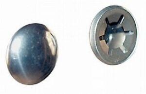 10x Starlock zincato 10 mm rondelle di sicurezza con tappo INOX anello securezza