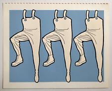 JOHN WESLEY silkscreen print 1972 LICHT EDITIONS CALENDAR mel ramos