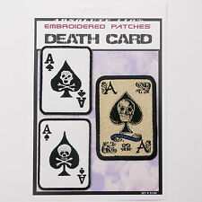 DEATH CARD - ACE OF SPADES Iron-On Patch Super Set #144