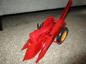 Agco Massey Harris Ferguson Farm Toy 1 Off Custom 44 Precision Corn Picker Rare