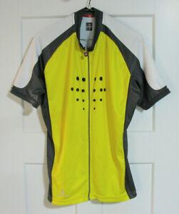 Hincapie Men's Full Zip XL Cycling Jersey Short Sleeve Bike Racing Sportswear