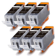 6 NEW BLACK Ink Cartridge for BCI-3eBK Canon i550 i850 i560 i860 iP3000 iP4000