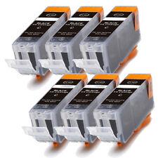6 NEW BLACK Ink Cartridge for BCI-3eBK Canon i550 i850 i560 i860 iP3000 iP4000