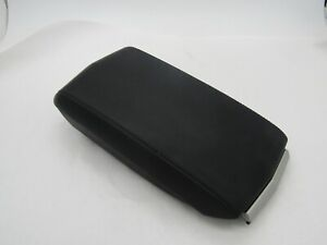 Cadillac CTS 2008-2013 Center Console Arm Rest Lid Black Leather OEM