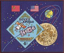 MONGOLIE BLOC N°34** Bf  Espace,TB, 1973 MONGOLIA Space SHEET MNH