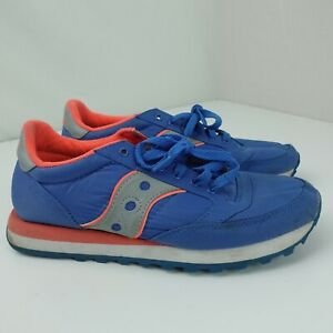 Saucony Jazz Women's Shoes Size 8.5 Blue Pink S60155-4
