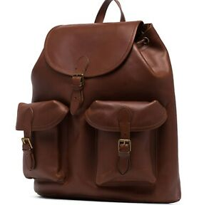 New Polo Ralph Lauren Heritage Leather backpack rucksack