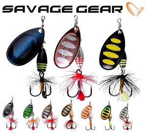 Savage Gear ROTEX Fishing Spinner 3,5g - 14g Predator Lure Pike Sea Bass Perch
