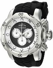 Invicta Venom Sea Dragon Chronograph WR 1000M Black Silicone Mens Watch 20439 SD