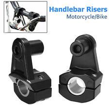 Universal 2x 22/28mm Lenkererhöhung Lenker Riser Lenkerbefestigung Motorrad BMW