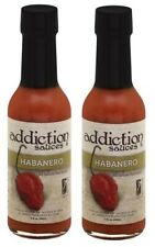 Addiction Sauces Habanero Hot Sauce 2 Bottle Pack