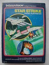 * INTELLIVISION COMPLET STAR STRIKE N° 5161 DE 1981