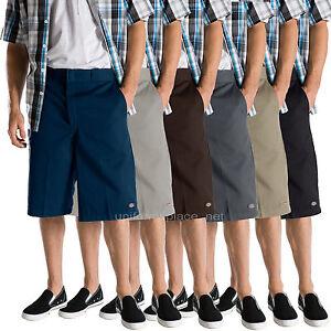 "Dickies Work Shorts Men 13"" Loose Fit cell phone, multi pocket shorts 42283"