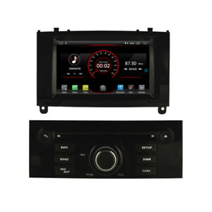 "Navi Car DVD GPS Radio Stereo for Peugeot 407 2004-2010 7"" Android 10 DSP 2+16gb"