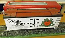 LGB 4072 Gauge G u. S.Freight Cars Miller Milwaukee Beer Boxed