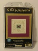 New 2000 DIMENSIONS GOLD COLLECTION FANCIFUL BUTTERFLY COUNTED CROSS STITCH KIT