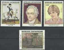 Timbres Centrafrique 507/10 ** lot 26964