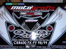 MOTOGRAFIX  HONDA CB600 FX _FY  nose/ front fairing graphics