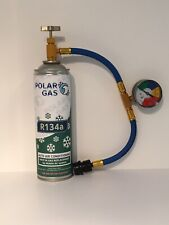 CAR Aircon Refill Regas Air Conditioning Top up R134A Gas hose replacement