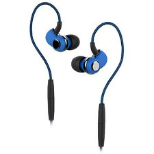 SoundMAGIC ST30 Isolating Wireless or Wired Sports Earphones Blue - Refurbished