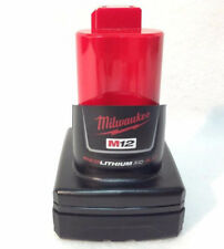 Genuine Milwaukee 48-11-2440 Used M12 12v Red  XC 4.0 Ah Battery