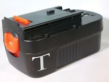 TankReplacement For Black & Decker HPB18-OPE 18-Volt Slide Pack Battery For 18