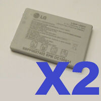 2 FOR 1 LG LGIP-400V OEM FATHOM VS750 ALLY VS740 BATTERY