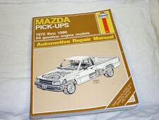 1972 - 1990 Mazda Pickups all Gas Models Haynes Manual in Excellent Condition