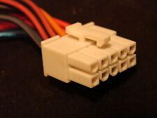 Midland Securicor Titan VHF UHF 10-pin Mobile Radio Power Cable Wiring Harness