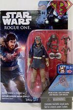 "CAPTAIN CASSIAN ANDOR (EADU) Star Wars Rogue One Movie 3 3/4"" Action Figure 2016"
