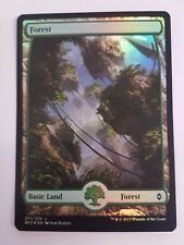 Forest 271/274 - FOIL - Battle For Zendikar (Magic/mtg) Full Art Land