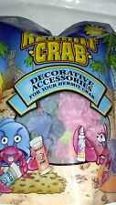 """FMR HERMIT CRAB COLORFUL CORAL PIECES 1/8"""" TO 3"""" SIZE 4 OZ PACK.FREE SHIP TO USA"""