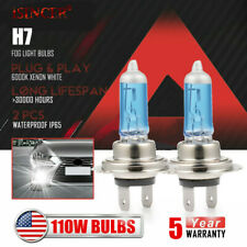 H7 Xenon Headlight 110W 20000LM Halogen FOG Light Bulb 6000K Driving DRL Lamp US