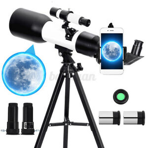 180X Zoom Astronomical Monocular Telescope Tripod HD Outdoor Moon + Phone Holder