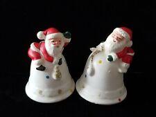 Vintage National Potteries Co Santa Salt Pepper Shakers