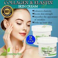 COLLAGEN ELASTIN SKIN CREAM Moisturizer Anti Aging Wrinkle Smooth Elasticity 4oz