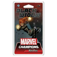 MARVEL CHAMPIONS THE CARD GAME: BLACK WIDOW HERO PACK  - BOARD GAME - BRAND NEW