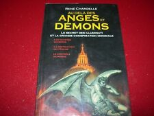 AU DELA DES ANGES ET DEMONS   RENE CHANDELE  2006  SECRET DES ILLUMINATI