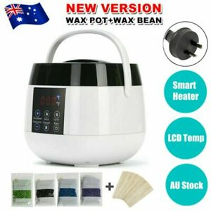 Smart Wax Pot Warmer Hard Wax Bean Body Remover Heater + LCD Temperature