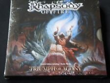Rhapsody of Fire - Triumph Or Agony Limited Edition Digipak CD 2006 LUCA TURILLI
