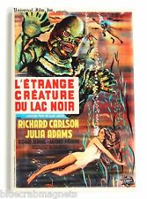 """Creature from the Black Lagoon (France) FRIDGE MAGNET (2"""" x 3"""") movie poster"""