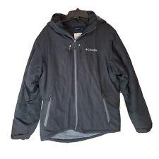 COLUMBIA Waterproof Winter Ski Jacket MENS M MEDIUM Navy Blue