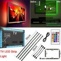 USB Bluetooth RGB LED Strip Light Backlight for LCD TV PC Computer Monitor 5V