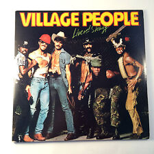 The Village People Live and Sleazy 1979 Casablanca Record NBLP718312 double LP