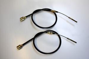 2 Stück Bowdenzug Bremsseil f Knott 300x60 HL=1400 GL=1660 Anhänger