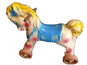 1960s Vintage Wonder Horse Toy For Kids Rare Color Pattern