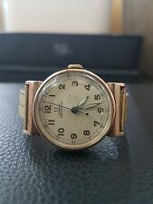 vintage 9k gold case omega ladies watch hardy brothers by omega, hardy bros